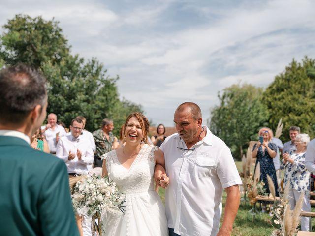 Le mariage de Frédéric et Coralie à Tilh, Landes 33
