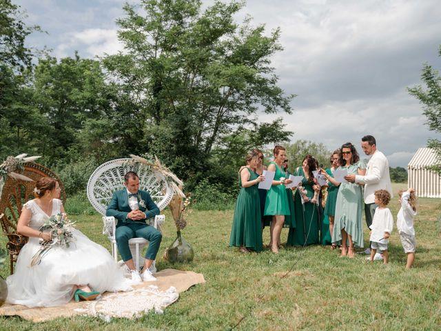 Le mariage de Frédéric et Coralie à Tilh, Landes 35