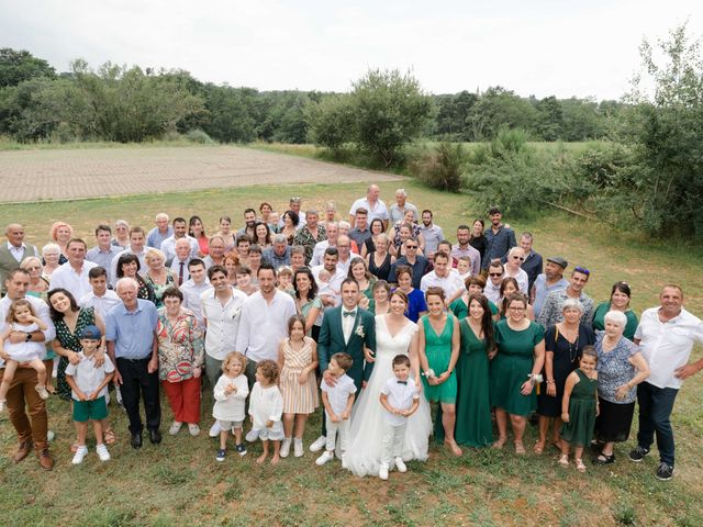 Le mariage de Frédéric et Coralie à Tilh, Landes 43