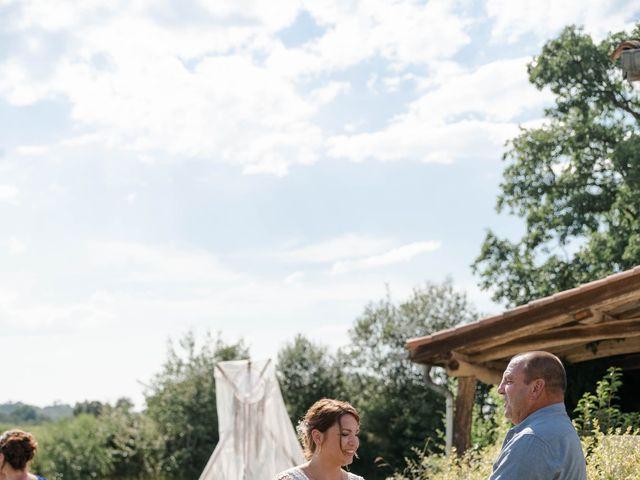Le mariage de Frédéric et Coralie à Tilh, Landes 45