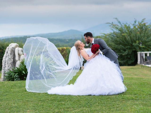 Le mariage de Stéphanie et Andrea