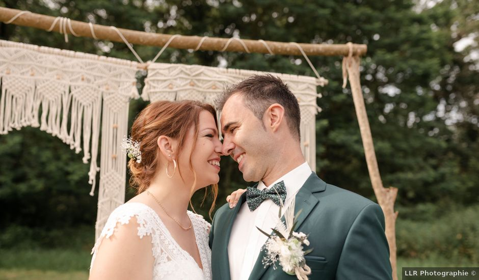 Le mariage de Frédéric et Coralie à Tilh, Landes