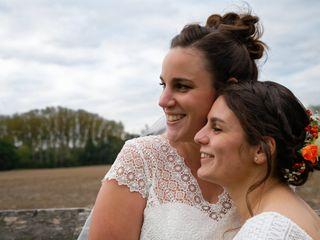 Le mariage de Amandine et Marine-Alice