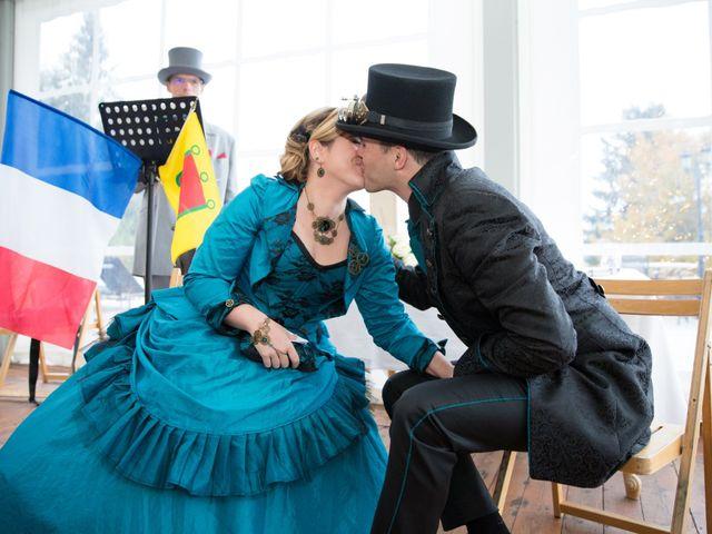 Le mariage de David et Axelle à Saint-Priest-Bramefant, Puy-de-Dôme 8