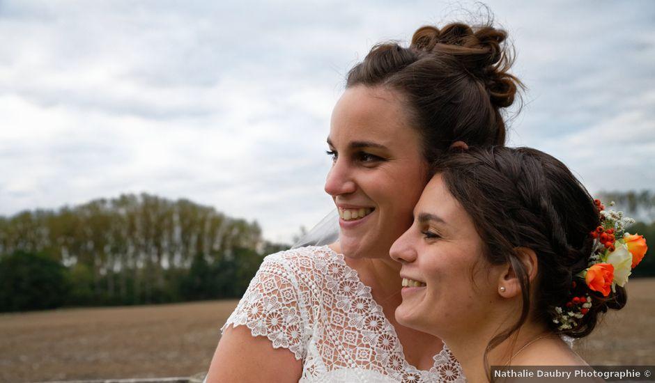 Le mariage de Marine-Alice et Amandine à Chareil-Cintrat, Allier