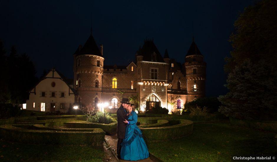 Le mariage de David et Axelle à Saint-Priest-Bramefant, Puy-de-Dôme