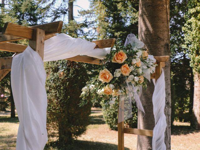 Le mariage de Johnatan et Eloïse à Villebois, Ain 2