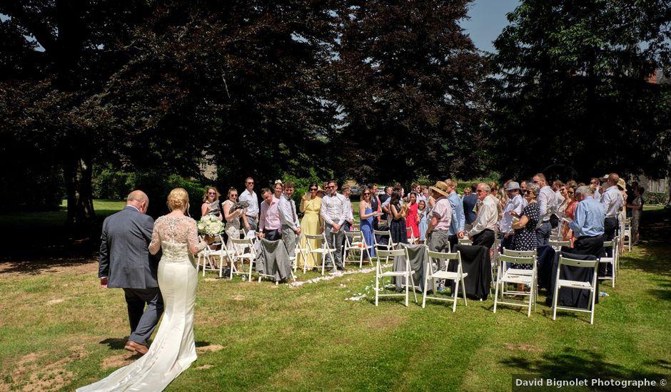 Le mariage de Hugues et Claire à Saint-Just, Ille et Vilaine