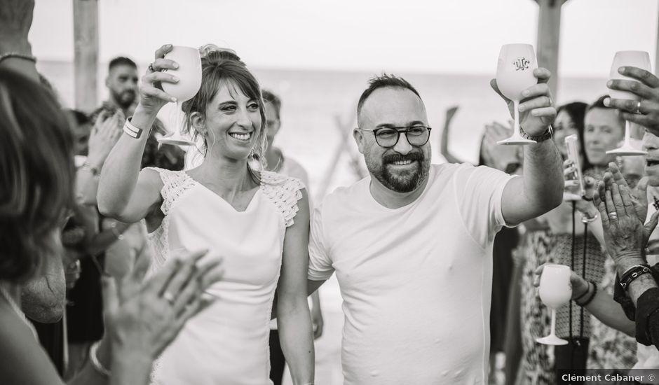 Le mariage de Fabien et Marlène à Le Barcarès, Pyrénées-Orientales