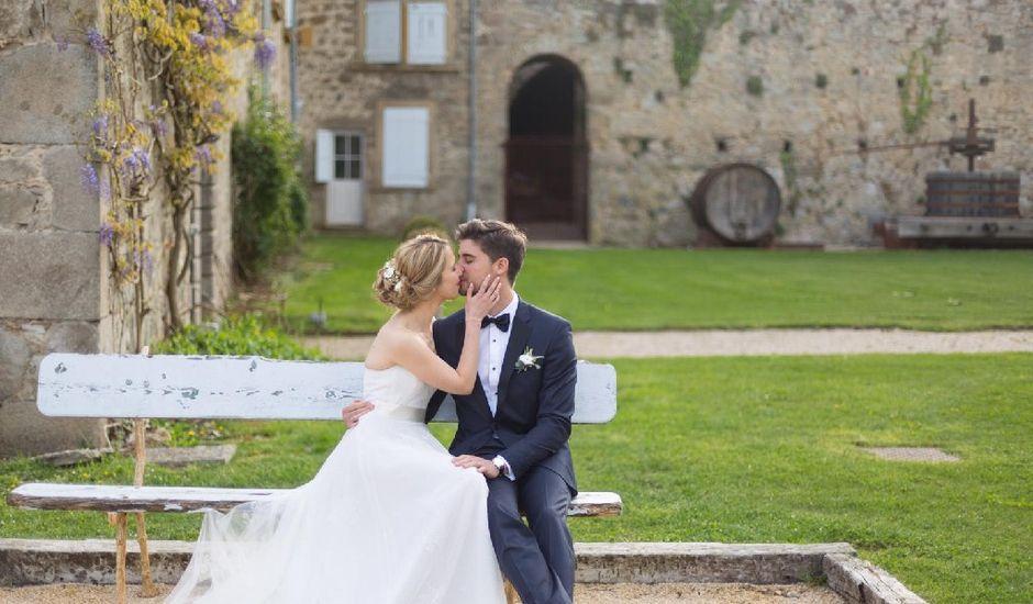 Le mariage de Julien et Aline  à Communay, Rhône