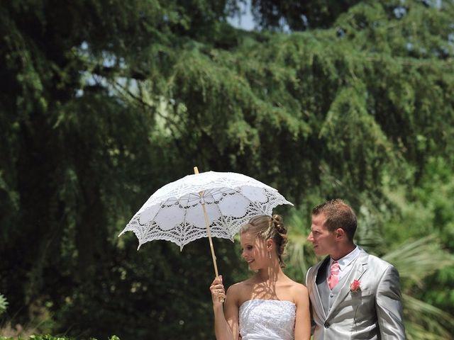 Le mariage de Nicolas et Clio à Bagard, Gard 12