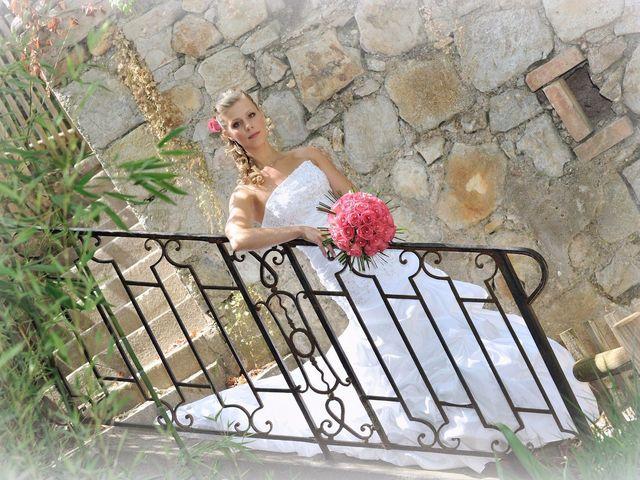 Le mariage de Nicolas et Clio à Bagard, Gard 13