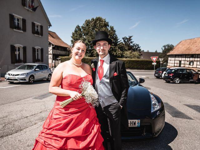 Le mariage de Lionel et Chloé à Tagsdorf, Haut Rhin 7