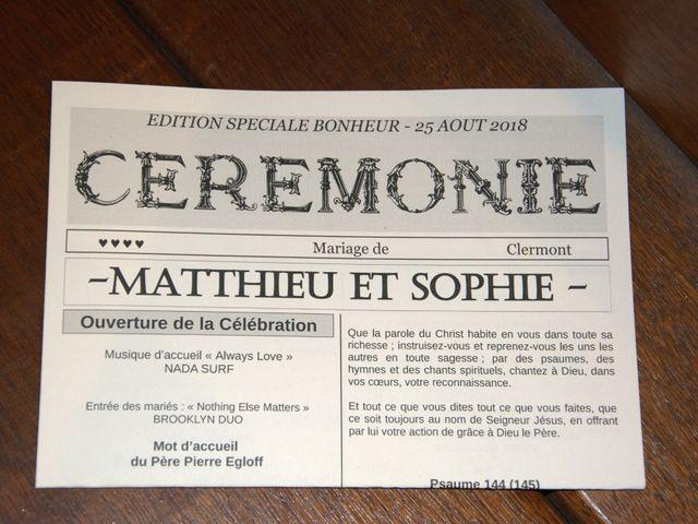 Le mariage de Matthieu et Sophie à Clermont, Landes 6