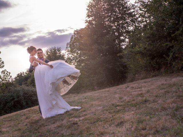 Le mariage de Alban et Alexandra à Dénat, Tarn 2