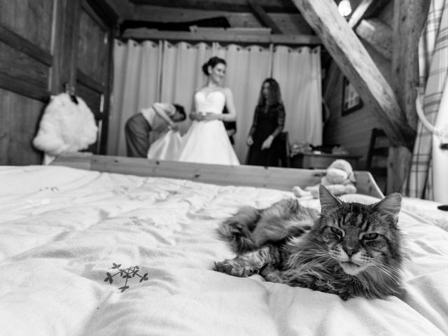 Le mariage de Eloise et Nicolas à Le Reposoir, Haute-Savoie 3