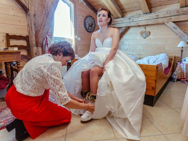 Le mariage de Eloise et Nicolas à Le Reposoir, Haute-Savoie 7
