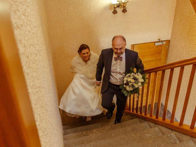 Le mariage de Eloise et Nicolas à Le Reposoir, Haute-Savoie 9