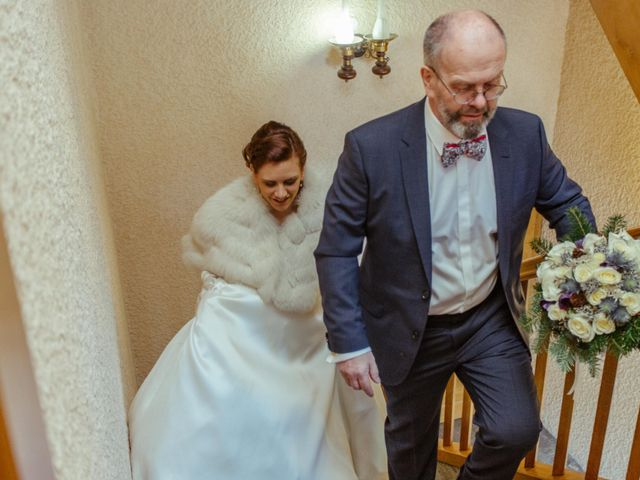 Le mariage de Eloise et Nicolas à Le Reposoir, Haute-Savoie 10
