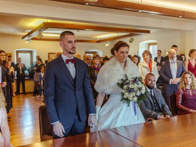 Le mariage de Eloise et Nicolas à Le Reposoir, Haute-Savoie 14
