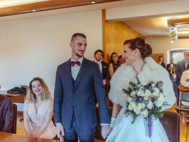 Le mariage de Eloise et Nicolas à Le Reposoir, Haute-Savoie 16
