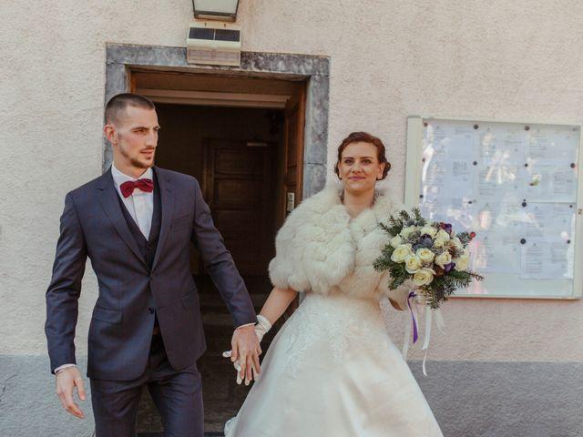 Le mariage de Eloise et Nicolas à Le Reposoir, Haute-Savoie 28