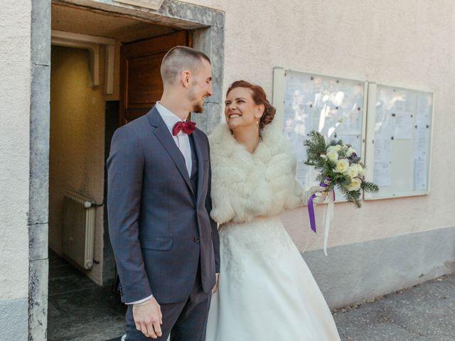 Le mariage de Eloise et Nicolas à Le Reposoir, Haute-Savoie 30