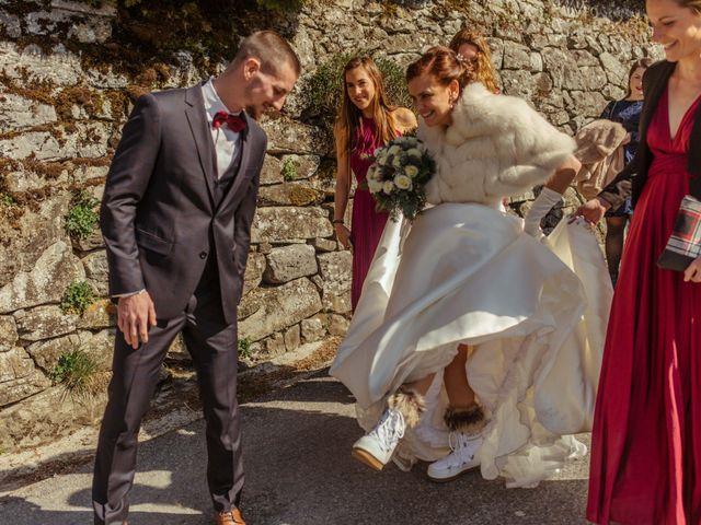 Le mariage de Eloise et Nicolas à Le Reposoir, Haute-Savoie 32