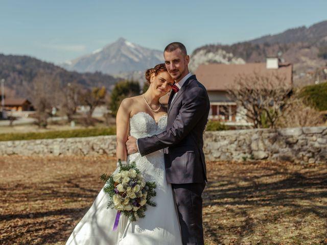 Le mariage de Eloise et Nicolas à Le Reposoir, Haute-Savoie 34