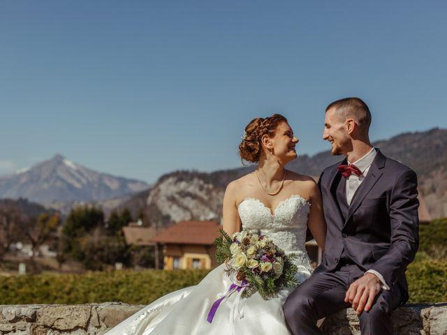 Le mariage de Eloise et Nicolas à Le Reposoir, Haute-Savoie 36