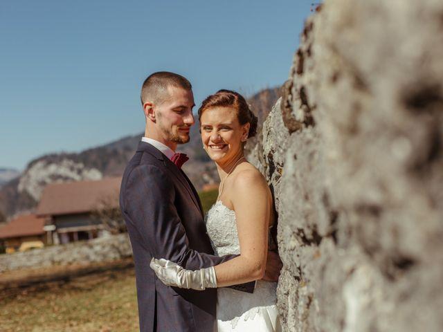 Le mariage de Eloise et Nicolas à Le Reposoir, Haute-Savoie 40
