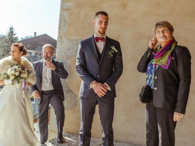 Le mariage de Eloise et Nicolas à Le Reposoir, Haute-Savoie 42