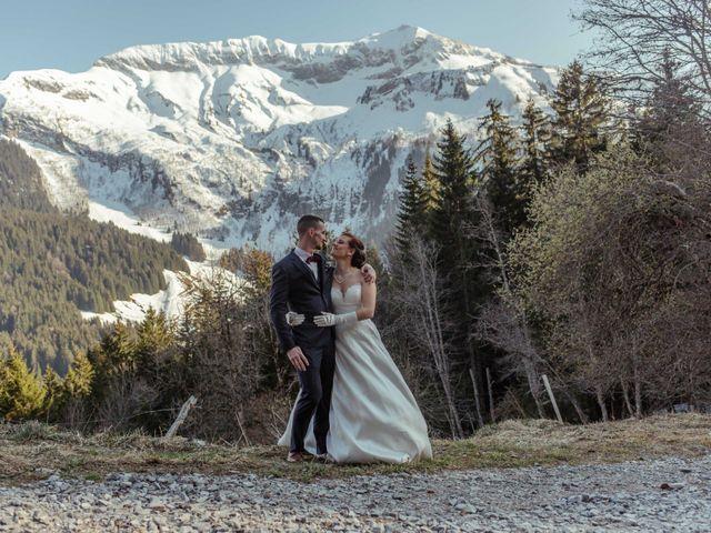 Le mariage de Eloise et Nicolas à Le Reposoir, Haute-Savoie 70