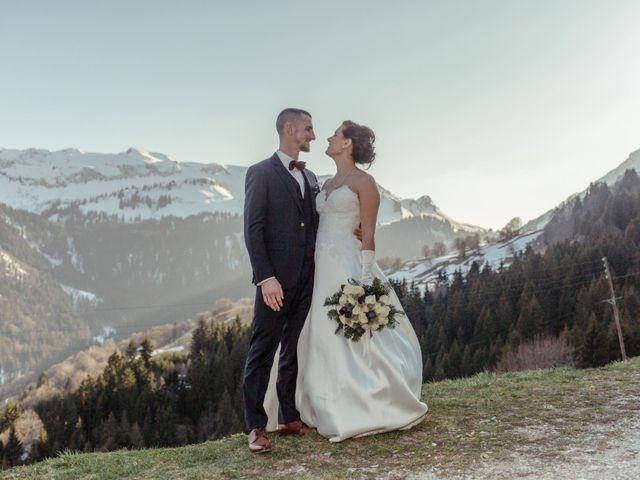 Le mariage de Eloise et Nicolas à Le Reposoir, Haute-Savoie 73