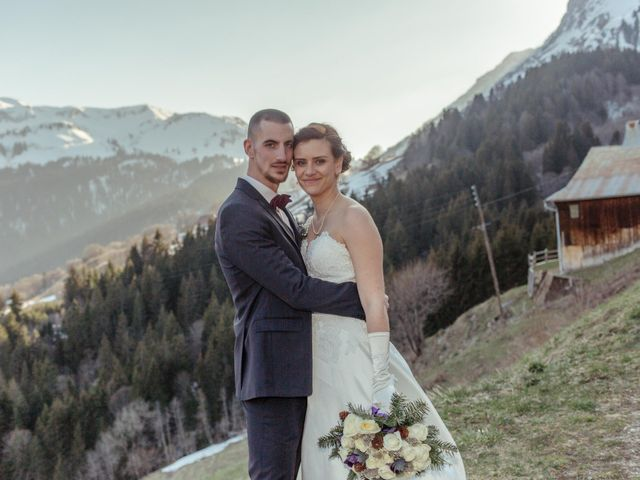 Le mariage de Eloise et Nicolas à Le Reposoir, Haute-Savoie 74