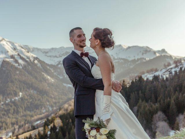 Le mariage de Eloise et Nicolas à Le Reposoir, Haute-Savoie 75