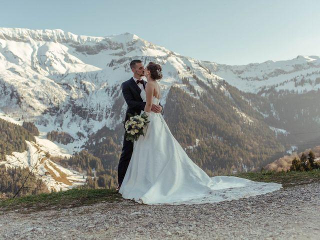 Le mariage de Eloise et Nicolas à Le Reposoir, Haute-Savoie 76