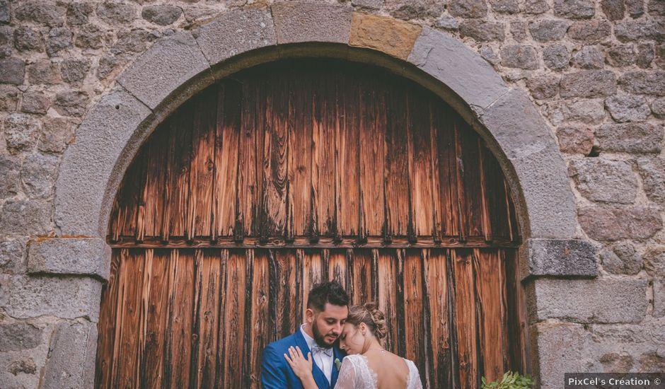 Le mariage de Anthony et Ophélie à Saint-Genest-Malifaux, Loire