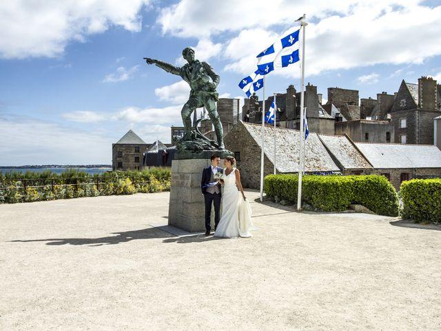 Le mariage de Laura et Claude à Saint-Malo, Ille et Vilaine 16