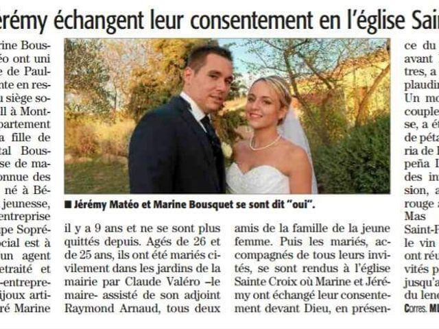 Le mariage de Jérémy et Marine à Paulhan, Hérault 17
