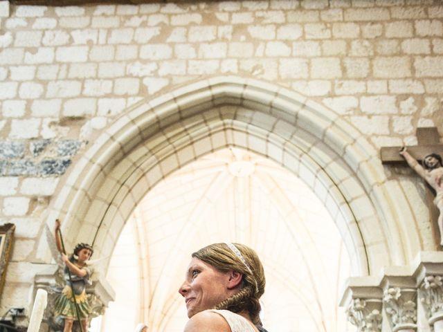 Le mariage de Hervé et Hortense à Roiffé, Vienne 15