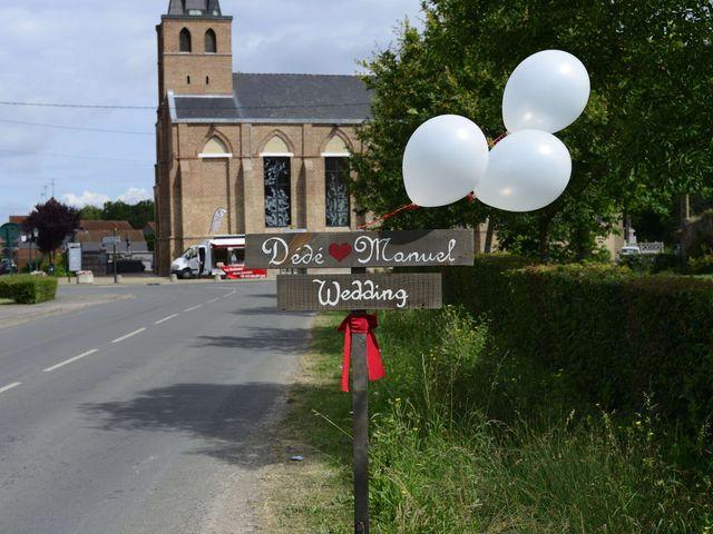 Le mariage de Dede et Manuel à Clairmarais, Pas-de-Calais 12