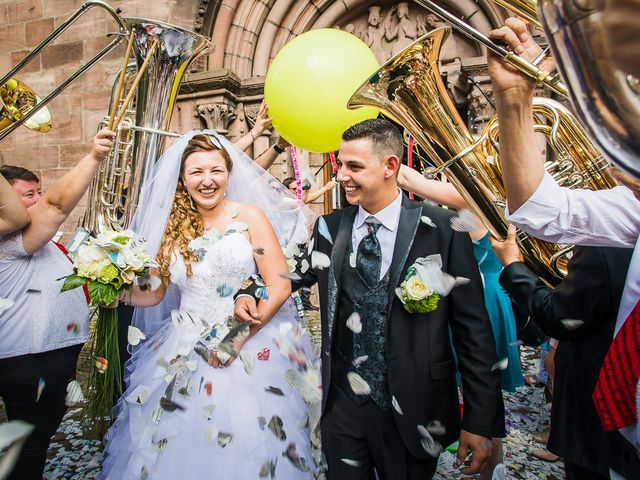 Le mariage de Thomas et Camille à Kaysersberg, Haut Rhin 17