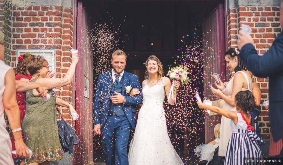 Le mariage de Jim et Sandy à Halluin, Nord