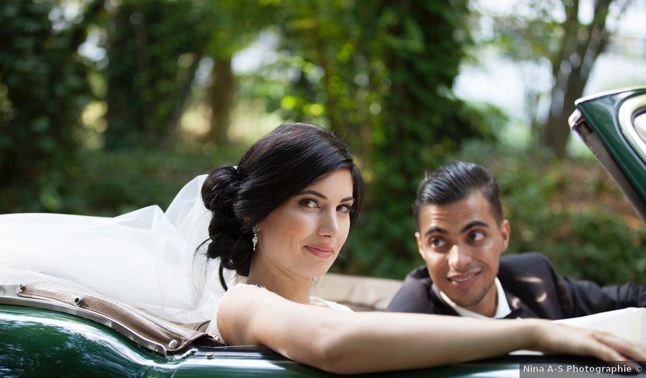 Le mariage de Nacer et Tiffany à Crolles, Isère