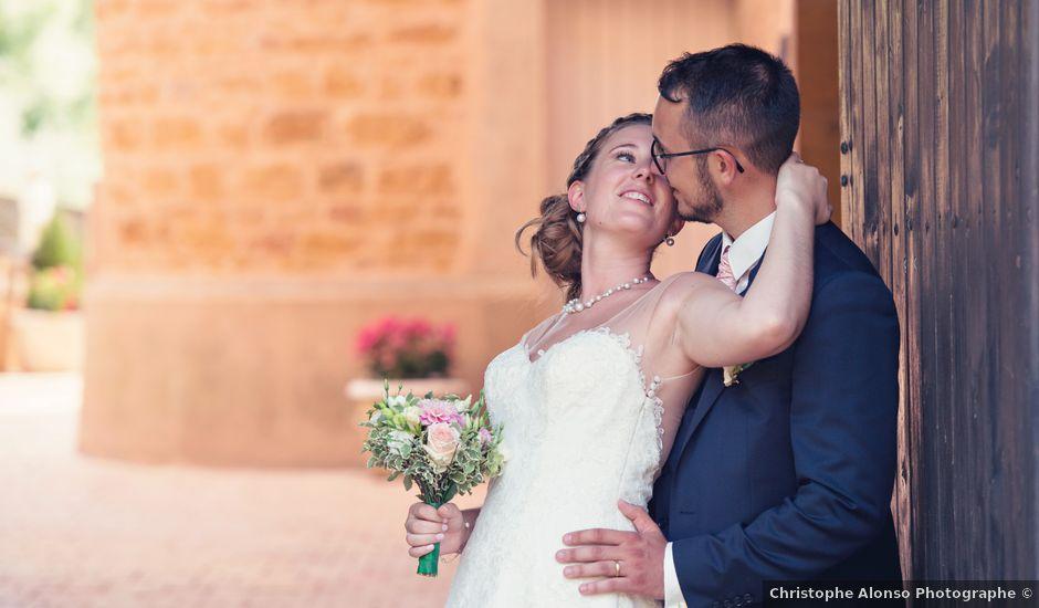 Le mariage de Florian et Nolwenn à Chazay-d'Azergues, Rhône
