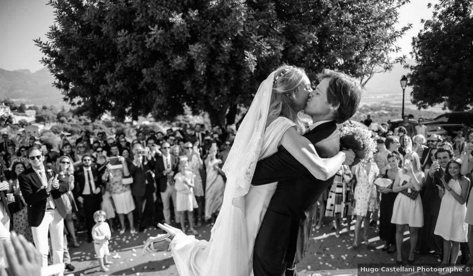 Le mariage de Rodolphe et Elise à L'Île-Rousse, Corse