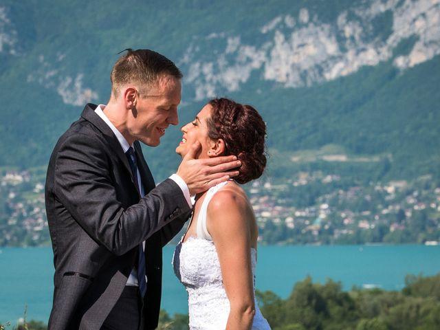 Le mariage de Thomas et Julie à Saint-Jorioz, Haute-Savoie 16