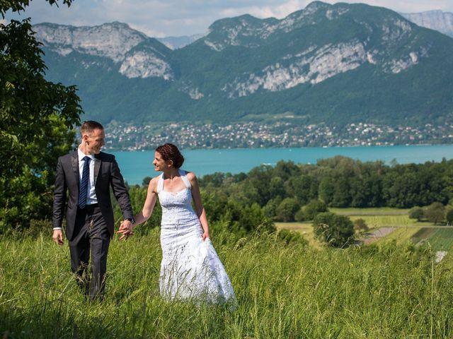 Le mariage de Thomas et Julie à Saint-Jorioz, Haute-Savoie 17