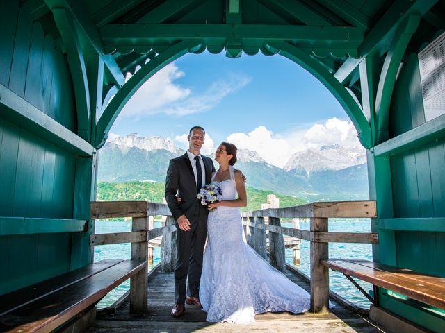 Le mariage de Thomas et Julie à Saint-Jorioz, Haute-Savoie 23
